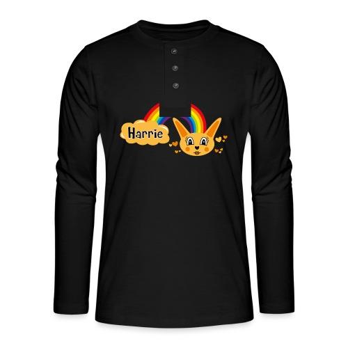 Motif Harrie - T-shirt manches longues Henley