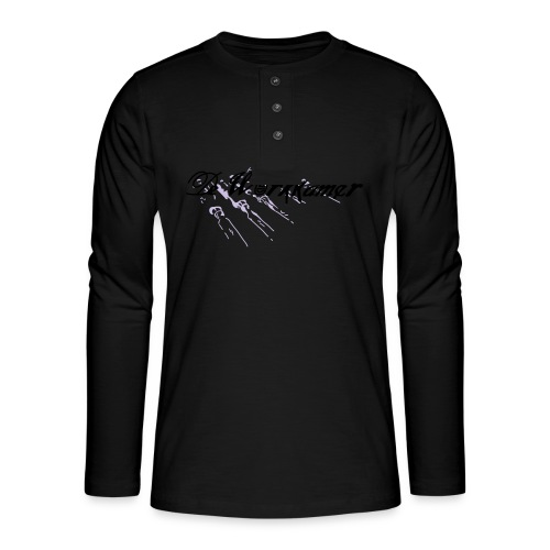 werkkamer edit - Henley shirt met lange mouwen
