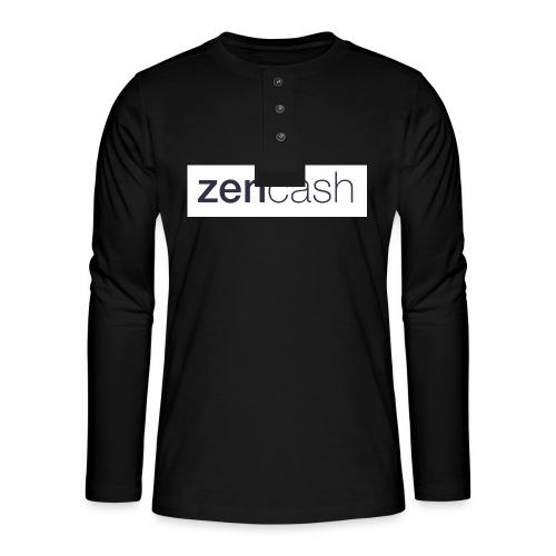 ZenCash CMYK_Horiz - Full - Henley long-sleeved shirt