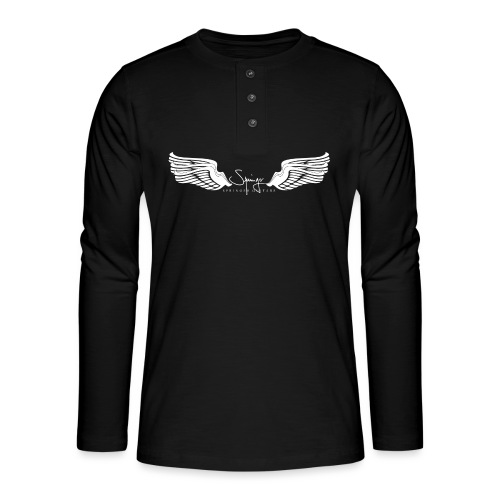 Seraph Wings white - T-shirt manches longues Henley