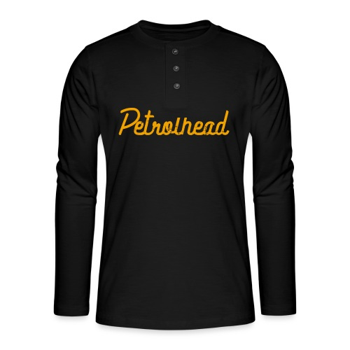 Petrolhead is the new color - Maglia a manica lunga Henley