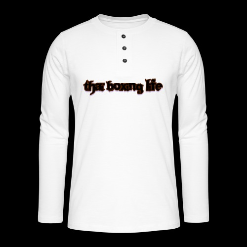 MTS92 THAI BOXING LIFE - T-shirt manches longues Henley
