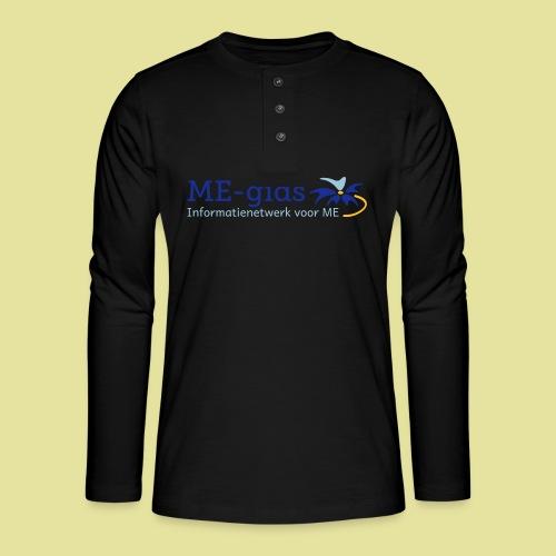 logomegids - Henley shirt met lange mouwen