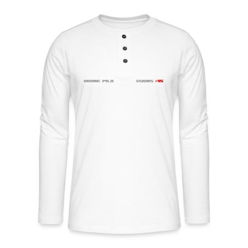 I CRASH A LOT - Henley long-sleeved shirt