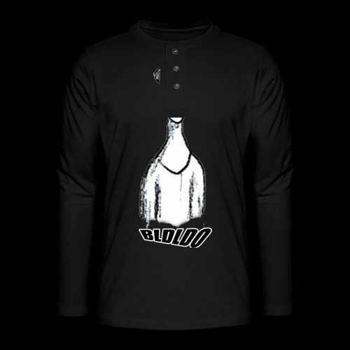 Hiaoue - T-shirt manches longues Henley