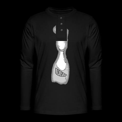 Hiaoui - T-shirt manches longues Henley