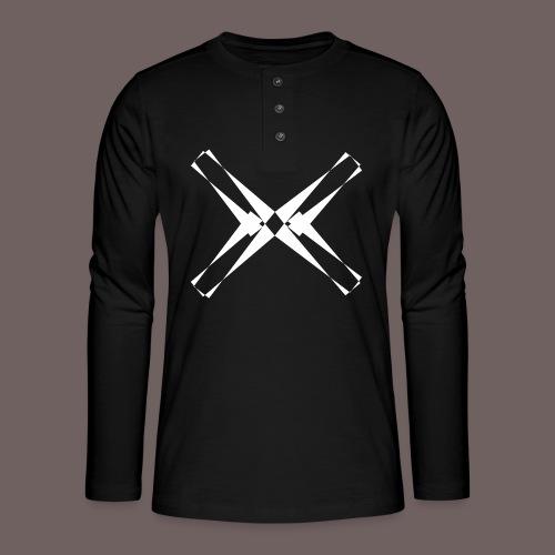 GBIGBO - Rock Metal - Rotor 01 - T-shirt manches longues Henley