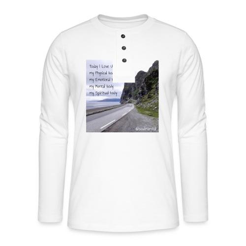 My bodys - Henley pitkähihainen paita