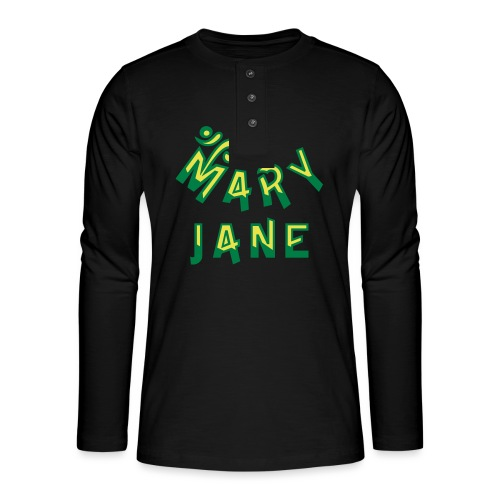 Mary Jane - Henley long-sleeved shirt