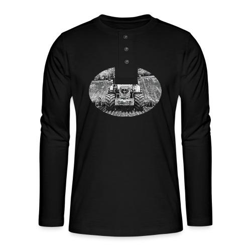Ackerschlepper - Henley Langarmshirt