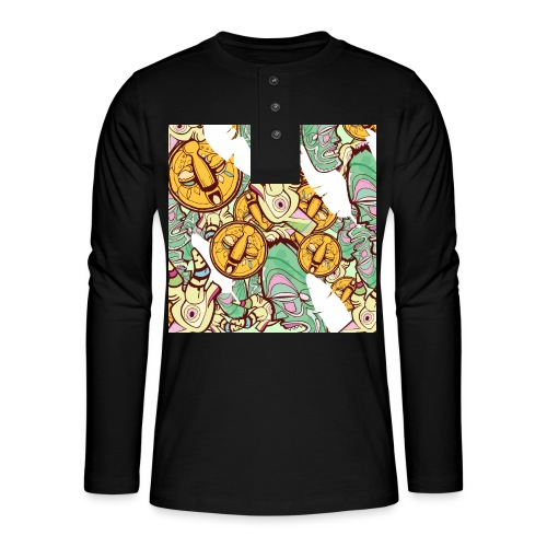 Mask Factory - Day Edition - Henley long-sleeved shirt