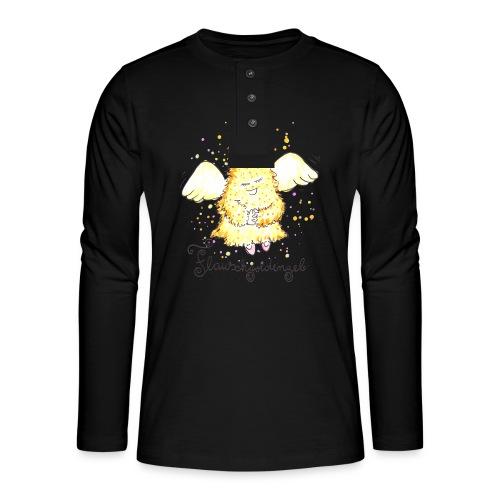 Flauschgoldengel - Henley Langarmshirt