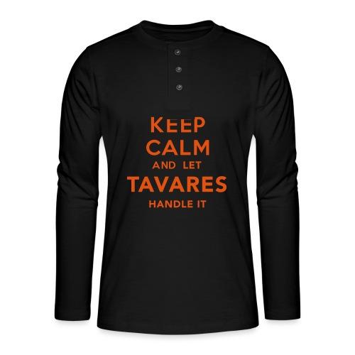 Keep Calm Tavares - Långärmad farfarströja