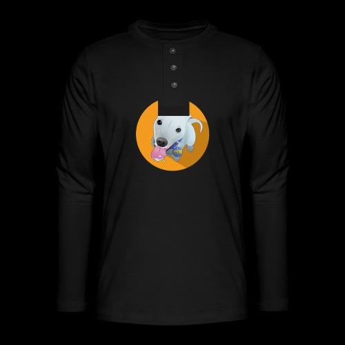 Computer figure 1024 - Henley long-sleeved shirt