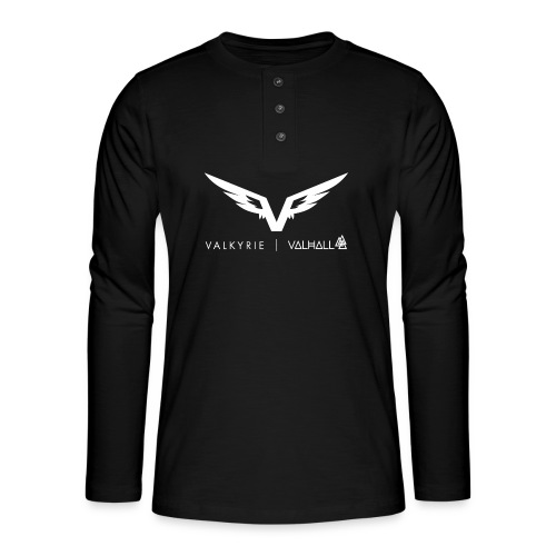 valkyriewhite - Henley long-sleeved shirt