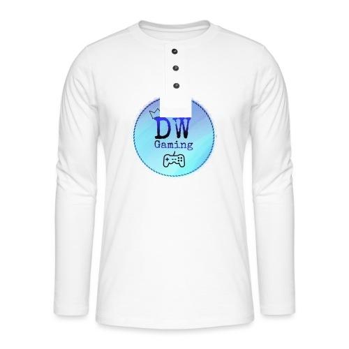 dw logo - Henley long-sleeved shirt