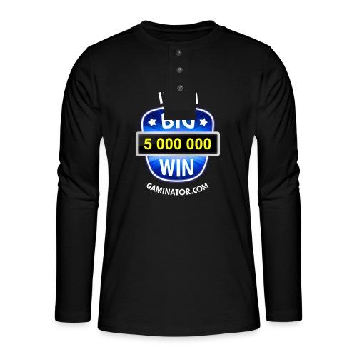 Big Win - Henley long-sleeved shirt