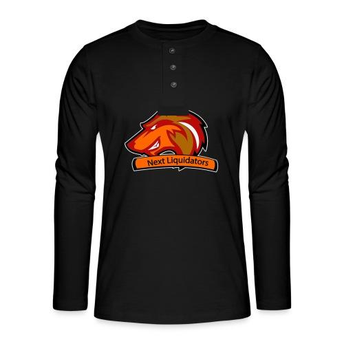 png - Henley shirt met lange mouwen