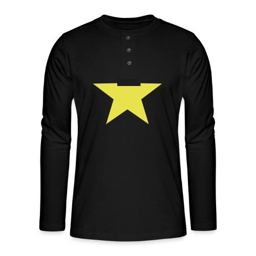 étoile couleurs modifia.. - T-shirt manches longues Henley