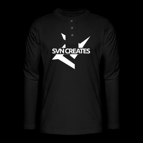 SVN Shirt logo 1 png - Henley shirt met lange mouwen