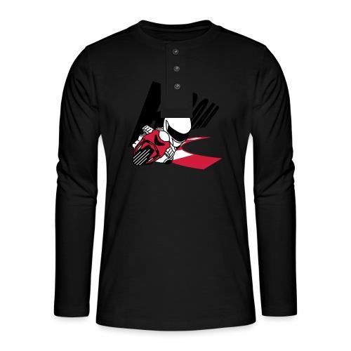 MOTO GP ROAR - Henley Langarmshirt