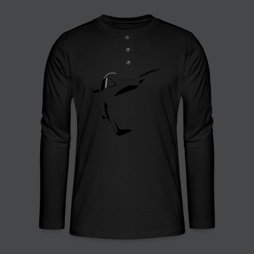 Auto - Henley Langarmshirt