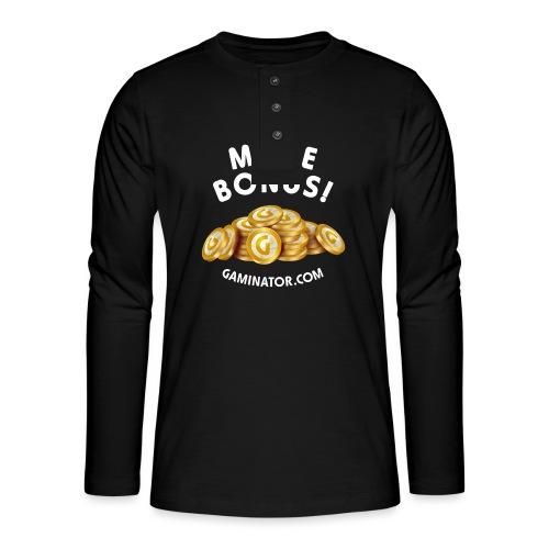More bonus - Henley long-sleeved shirt