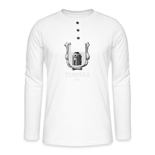 Torneå 1621 vaalea - Henley pitkähihainen paita
