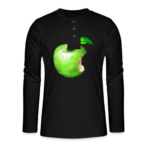 Apfel - Henley Langarmshirt