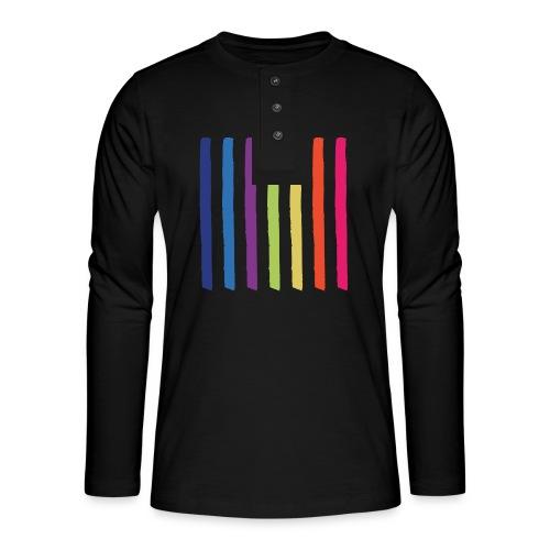Lines - Henley long-sleeved shirt