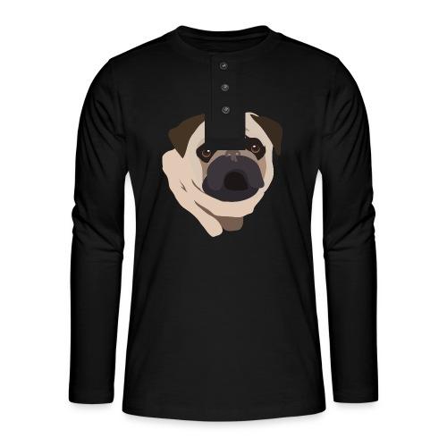 Pug Life - Henley long-sleeved shirt