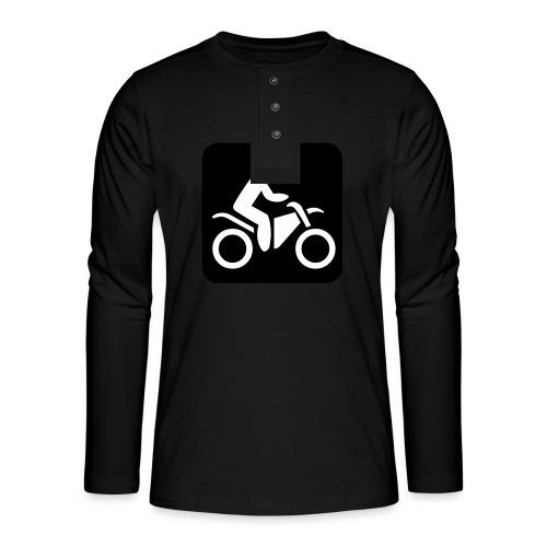 motorcycle - Henley pitkähihainen paita