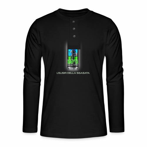 Nafta Energy Drink - Maglia a manica lunga Henley