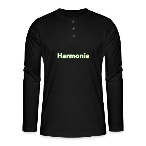 Harmonie - Henley Langarmshirt