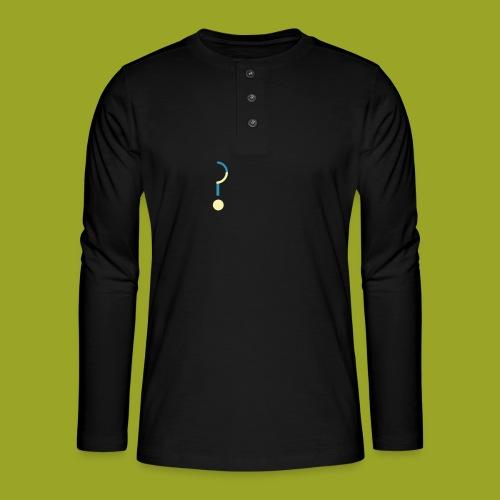 Question Mark - Henley long-sleeved shirt