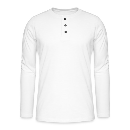 Creative long urban shirt - Henley T-shirt med lange ærmer