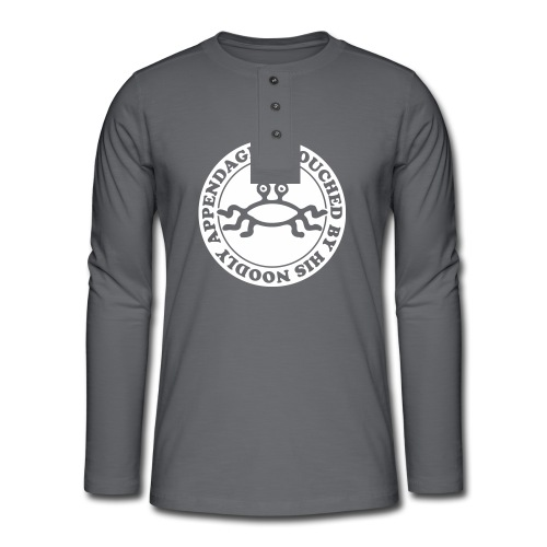 Touched by His Noodly Appendage - Henley long-sleeved shirt