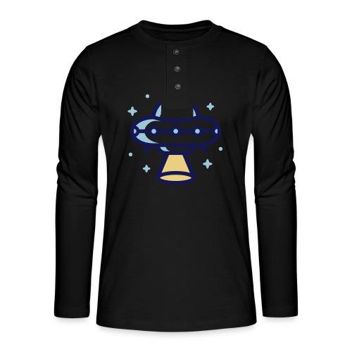 Space Spaceship - Henley shirt met lange mouwen