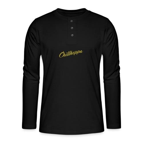 Chillhoppa Music Lover Shirt For Women - Henley long-sleeved shirt