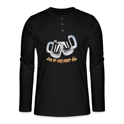 Doe er nog maar een Shirt png - Henley shirt met lange mouwen