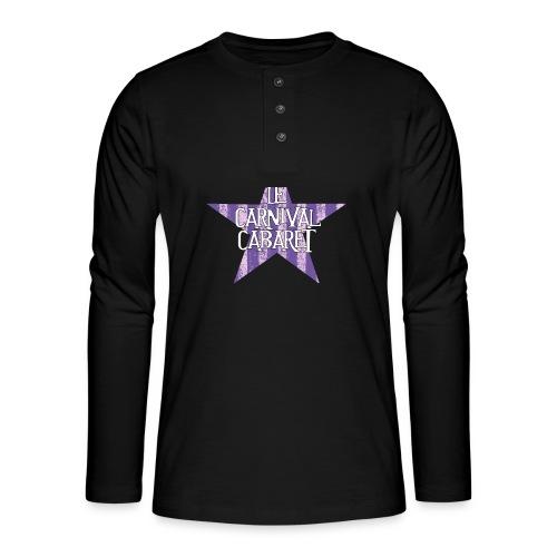 bonnet LCC noir etoie violette - Henley long-sleeved shirt