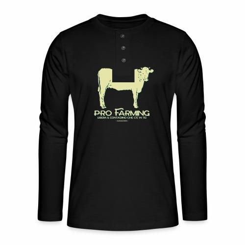 PRO Farming - Maglia a manica lunga Henley