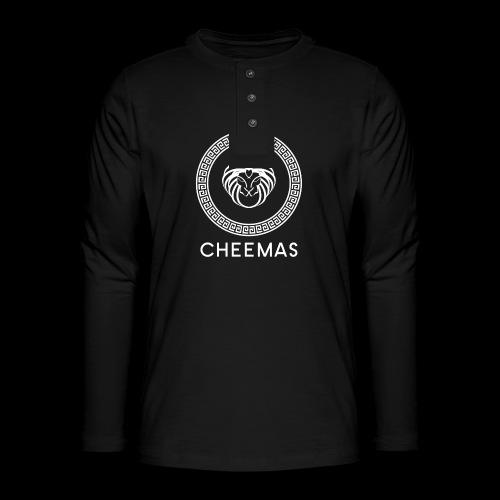 CHEEMAS - T-shirt manches longues Henley
