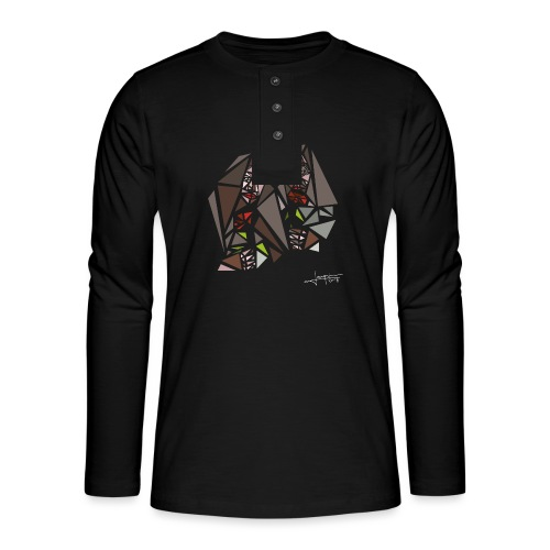 john-yoko.png - T-shirt manches longues Henley