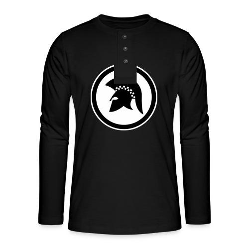 trojan Ska-reggae Zeichen - Henley Langarmshirt