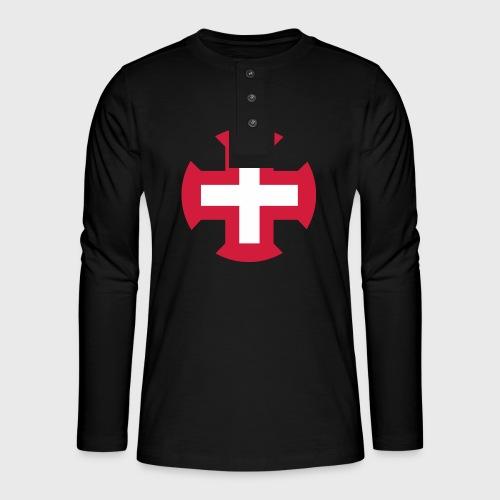 Croix du Portugal - T-shirt manches longues Henley