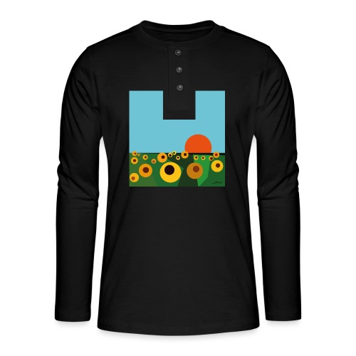 Sunflower - Henley long-sleeved shirt