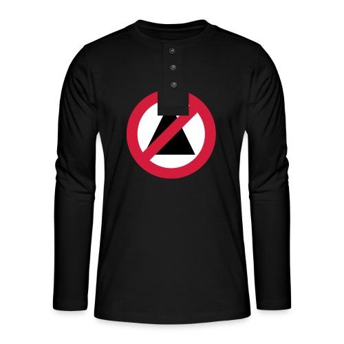 No-Illuminati - T-shirt manches longues Henley