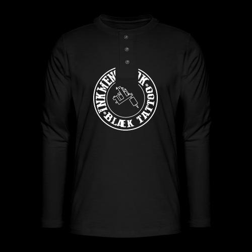 logo hvid png - Henley T-shirt med lange ærmer
