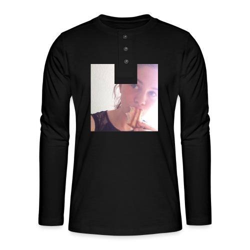 Det' toastBeks - Henley T-shirt med lange ærmer